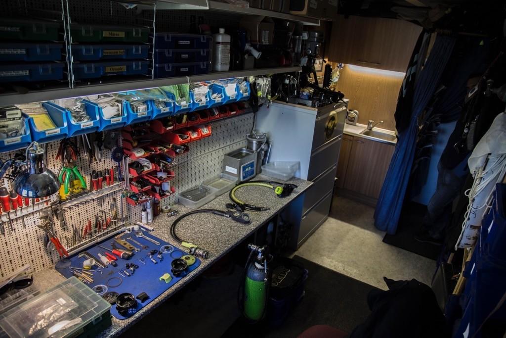 Unserer Reparaturwerkstatt für Tauchequipment in Erfurt/Thüringen